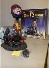 Sideshow Exclusive X-Men Vs. Sentinel Polystone Diorama #1 Cyclops Colossus