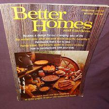 Better Homes And Gardens Magazine Nov 1973 Houses Family Travel Recipes