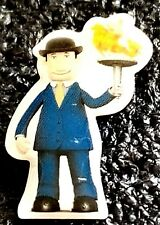 2010 Vancouver Olympic  *RBC *SPONSOR  *ARBIE*  TORCH RELAY*  PIN