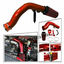 Oiled Cold Air Intake Kit Red For 2003-2007 Ford F250 6.0L Powerstroke Diesel