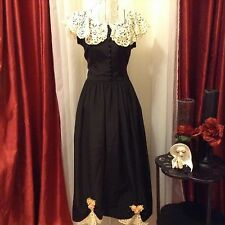 VINTAGE 1940's Dorsa Exclusive Original dress Sz SMALL