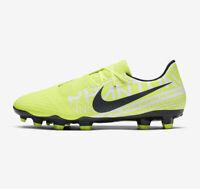 Nike Phantom Venom Acadamy Youths Uk Size 4 Firm Ground Football Boots Yellow