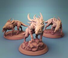 Miniature Dungeons And Dragons: Hell Hounds