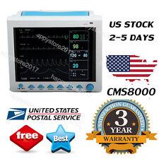 CMS8000 ICU Patient Monitor 6 parameter Vital Sign ECG NIBP RESP TEMP SPO2 PR