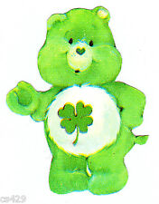 """4.5"""" Care bears good luck bear rare vintage prepasted wall border cut out"""