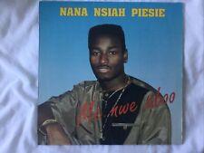 "NANA NSIAH PIESIE ""ME NWE ABOO "" 1992 LP GERMAN PRESSING A1/B1  GHANA HIGHLIFE"