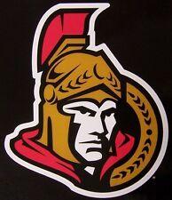 Window Bumper Sticker NHL Hockey Ottawa Senators NEW