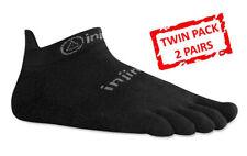 Injinji Run 2.0 Lightweight No Show Toe Socks Barefoot Running No Blisters X 2