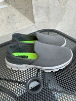 Men's Skechers Go Walk 3 Grey Athletic Shoe Goga Mat Size 8
