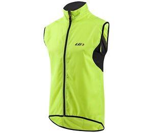 NEW XS Louis Garneau Mens Nova Vest Sleeveless Cycling Jersey Bright Yellow