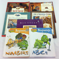 Max Lucado Picture Books 7 Lot Childrens Religious Christian Storybook Set