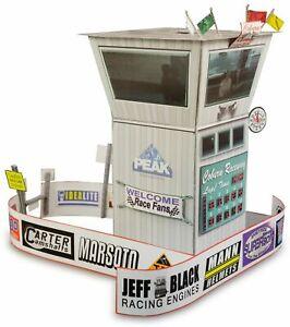 1/32 Slot Car Race Tower Diorama Fits Carrera, Scalextric, Strombecker, Eldon