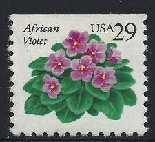 US Scott #2486, Single 1991 African Violet 29c VF MNH
