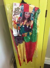 BRAND NEW Childs Jester Clown Halloween Hat Circus Fancy Dress Costume Age 11-13