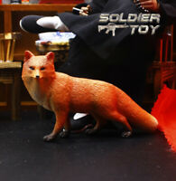 """Free Shipping 1/6 Scale Orange Fox Model Animal for 12"""" Action Figure Soldier"""