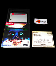 RAID ON BUNGELING BAY MSX Sony Hit Bit HBS-G0036C Cartridge Complete