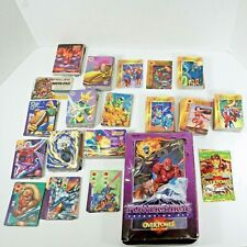 Vintage 1995 Marvel Overpower Collection 642 Cards Web Headed Wizard Booster Box