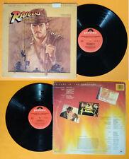 LP 33 giri John Williams RAIDERS OF THE LOST ARK OST vinyl no cd mc dvd vhs