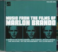 Music From Films Of Marlon Brando (Wild One/Guys And Dolls/Streetcar Desire) CD