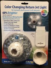 LED Above & In Ground Swimming Pool Jet Flow 3 Light Colors US Shipping Only