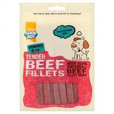 GoodBoy Pawsley Beef Fillet Dog Treat 90g