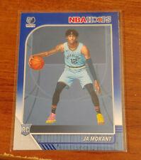 2019-20 Ja Morant Rookie Blue NBA Hoops Card #259