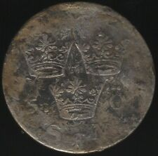 More details for 1690 sweden karl xi & karl xii silver 5 ore | european coins | pennies2pounds
