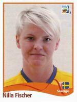 Panini WM 2011 245 Nilla Fischer Schweden Sweden World Cup 11 Women