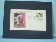 Great American Indian Tribes - The Shoshones & the First Day Cover of its stamp