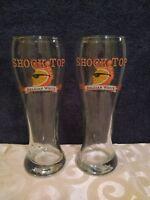 Set of 2 Shock Top Brewing Company Beer 16 oz. Pilsner Glasses