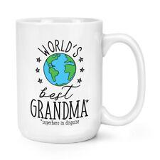 world's mejor abuela 426ml Mighty Taza - Regalo Divertido Grandmother grande