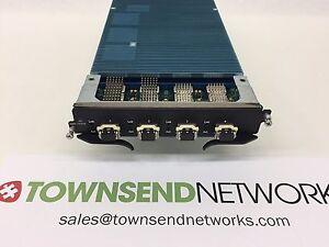 Brocade NI-XMR-10GX4 With (4) 10G-XFP-SR Optics /NetIron XMR Series 4-port 10-Gb