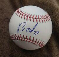 BETO OROURKE SIGNED MLB BASEBALL TEXAS PRESIDENT HOPEFUL W/COA+PROOF RARE WOW