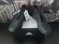 Adidas Mens Predator 19.3 Red/Black Astro Turf Sock Trainers Brand New UK 6