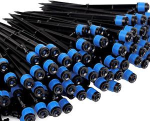 Lhx Irrigation Drippers Drip Emitters Plastic Micro Spray Adjustable 360 Degree