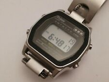 PULSAR  vintage Alarm chronograph digital 100m LCD sport watch (damage)
