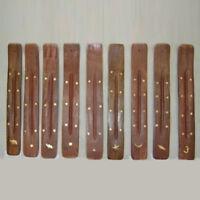 Wooden Incense Stick Holder BurnerJoss Insence Ash Catcher*Insense-Praying-Tool