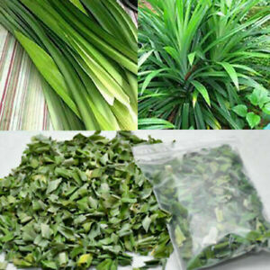 Dried Pandan leaf Natural Organic Rampe Pandanus Leaves Sri Lanka Free Shipping