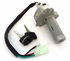 Ignition Switch & Fork Lock Assembly - 35100-KB7-017 - Honda XL200R XL250R