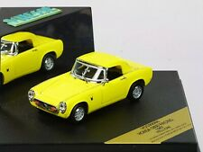 WOW EXTREMELY RARE Honda S800 Sport Hard Top 130HP 1967 Yellow 1:43 Vitesse-DISM