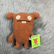 2005 Ugly Dolls Little Uglys Chuckanucka Orange Plush Stuffed Toy