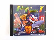PHILIPS CDi CD-I Family Games I 1 DIMA