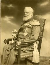 Elvira, München, König Ludwig III von Bayern  Vintage silver print. Tirage arg