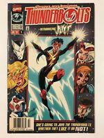 THUNDERBOLTS #4 (1997) | 1ST FIRST HALLIE TAKAHAMA AS JOLT; NEWSSTAND VARIANT
