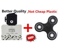Fidget Cube and Fidget Hand Spinner USA SHIPPER