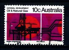 AUSTRALIA - 1970 - Petrolio e gas naturale (impianto di perforazione off - shore