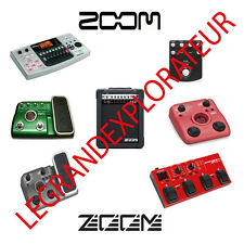 Ultimate Zoom Audio Owner, Repair Service Manuals & schematics  (PDFs manual s)