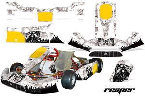 Go Kart Graphique Kit Décalque Autocollant Wrap pour Tony Kart Venox Moissonneur