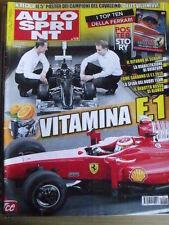 Autosprint 1-2 2010 Il ritorno di Michel Schumacher - Alonso  [SC.49]