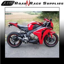 Honda CBR1000RR 2008-2013 A16 Carbon Stubby Exhaust with Carbon Outlet & Baffle